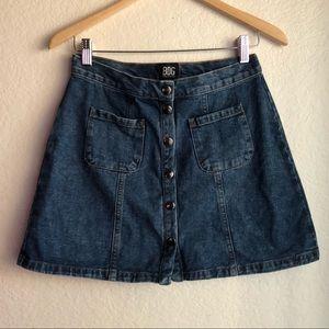 BDG Urban Outfitters Denim Jean Skirt